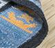 Jaipur Rugs - Flat Weave Wool Blue PDWL-451 Area Rug Loomshot - RUG1098495