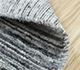 Jaipur Rugs - Hand Loom Wool Grey and Black PHWL-119 Area Rug Loomshot - RUG1077798
