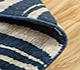 Jaipur Rugs - Tibetan Wool and Bamboo Silk Blue YNB-06 Area Rug Loomshot - RUG1055017