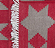 Jaipur Rugs - Flat Weave Cotton Red and Orange PDCT-68 Area Rug Prespective - RUG1086710