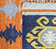 Jaipur Rugs - Flat Weave Wool Red and Orange PDWL-356 Area Rug Prespective - RUG1098479