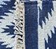 Jaipur Rugs - Flat Weaves Wool Blue PDWL-449 Area Rug Prespective - RUG1098493