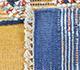 Jaipur Rugs - Flat Weaves Wool Blue PDWL-455 Area Rug Prespective - RUG1098500