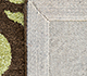 Jaipur Rugs - Hand Tufted Wool and Viscose Beige and Brown TAQ-111 Area Rug Prespective - RUG1030852