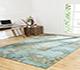 Jaipur Rugs - Patchwork Wool Blue CX-2247 Area Rug Roomscene shot - RUG1049231