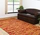 Jaipur Rugs - Flat Weave Wool Red and Orange CX-2357 Area Rug Roomscene shot - RUG1053854