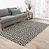 Jaipur Rugs - Flat Weave Wool Ivory DW-113 Area Rug Roomscene shot - RUG1101335
