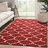 Jaipur Rugs - Flat Weaves Wool Red and Orange DW-119 Area Rug Roomscene shot - RUG1060327