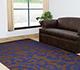 Jaipur Rugs - Flat Weaves Wool Blue DW-128 Area Rug Roomscene shot - RUG1033144