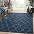 Jaipur Rugs - Flat Weave Wool Blue DW-162 Area Rug Roomscene shot - RUG1060324