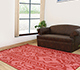 Jaipur Rugs - Flat Weave Wool Red and Orange DW-51 Area Rug Roomscene shot - RUG1033147