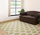 Jaipur Rugs - Flat Weave Wool Ivory DW-57 Area Rug Roomscene shot - RUG1062007