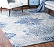 Jaipur Rugs - Hand Knotted Wool and Bamboo Silk Grey and Black ESK-400 Area Rug Roomscene shot - RUG1075159