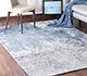 Jaipur Rugs - Hand Knotted Wool and Bamboo Silk Blue ESK-9012 Area Rug Roomscene shot - RUG1082912