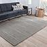 Jaipur Rugs - Hand Loom Wool and Viscose Grey and Black HLV-506 Area Rug Roomscene shot - RUG1106943
