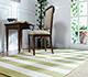 Jaipur Rugs - Hand Loom Wool and Viscose Green HLV-507 Area Rug Roomscene shot - RUG1031788