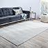 Jaipur Rugs - Hand Loom Wool and Viscose Grey and Black HWV-2000 Area Rug Roomscene shot - RUG1106397