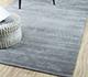 Jaipur Rugs - Hand Loom Wool and Viscose Grey and Black HWV-2000 Area Rug Roomscene shot - RUG1054601