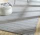 Jaipur Rugs - Hand Loom Wool and Viscose Grey and Black HWV-2000 Area Rug Roomscene shot - RUG1088052