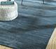 Jaipur Rugs - Hand Loom Wool and Viscose Blue HWV-2000 Area Rug Roomscene shot - RUG1092639