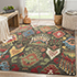 Jaipur Rugs - Hand Knotted Wool Grey and Black LCA-03 Area Rug Roomscene shot - RUG1060452