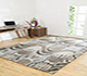Jaipur Rugs - Hand Knotted Wool Grey and Black LCA-09 Area Rug Roomscene shot - RUG1063129