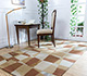 Jaipur Rugs - Hand Tufted Wool and Viscose Beige and Brown LEQ-19 Area Rug Roomscene shot - RUG1081562