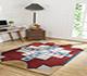 Jaipur Rugs - Hand Tufted Wool Red and Orange LET-1010 Area Rug Roomscene shot - RUG1089213
