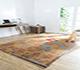Jaipur Rugs - Hand Tufted Wool Beige and Brown LET-1037 Area Rug Roomscene shot - RUG1063905