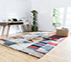 Jaipur Rugs - Hand Tufted Wool Multi LET-1096 Area Rug Roomscene shot - RUG1064033