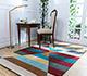 Jaipur Rugs - Hand Tufted Wool Multi LET-1559 Area Rug Roomscene shot - RUG1083414