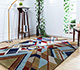 Jaipur Rugs - Hand Tufted Wool Blue LET-1564 Area Rug Roomscene shot - RUG1081534
