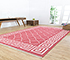 Jaipur Rugs - Flat Weave Cotton Pink and Purple PDCT-103 Area Rug Roomscene shot - RUG1086754