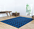 Jaipur Rugs - Flat Weaves Cotton Blue PDCT-63 Area Rug Roomscene shot - RUG1086708