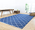 Jaipur Rugs - Flat Weave Cotton Blue PDCT-70 Area Rug Roomscene shot - RUG1086758