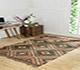 Jaipur Rugs - Flat Weaves Jute Green PDJT-160 Area Rug Roomscene shot - RUG1091551