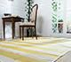 Jaipur Rugs - Flat Weaves Wool Gold PDWL-125 Area Rug Roomscene shot - RUG1050789