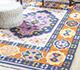 Jaipur Rugs - Flat Weave Wool Blue PDWL-351 Area Rug Roomscene shot - RUG1098469