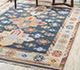 Jaipur Rugs - Flat Weaves Wool Blue PDWL-352 Area Rug Roomscene shot - RUG1098472