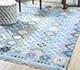 Jaipur Rugs - Flat Weaves Wool Blue PDWL-353 Area Rug Roomscene shot - RUG1098474