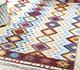 Jaipur Rugs - Flat Weaves Wool Ivory PDWL-353 Area Rug Roomscene shot - RUG1098475