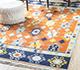 Jaipur Rugs - Flat Weave Wool Red and Orange PDWL-356 Area Rug Roomscene shot - RUG1098479