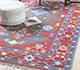 Jaipur Rugs - Flat Weave Wool Grey and Black PDWL-442 Area Rug Roomscene shot - RUG1098484