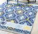 Jaipur Rugs - Flat Weave Wool Blue PDWL-445 Area Rug Roomscene shot - RUG1098489