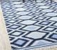 Jaipur Rugs - Flat Weave Wool Blue PDWL-448 Area Rug Roomscene shot - RUG1098492