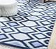 Jaipur Rugs - Flat Weaves Wool Blue PDWL-449 Area Rug Roomscene shot - RUG1098493