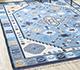 Jaipur Rugs - Flat Weave Wool Blue PDWL-451 Area Rug Roomscene shot - RUG1098495