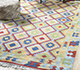 Jaipur Rugs - Flat Weave Wool Multi PDWL-459 Area Rug Roomscene shot - RUG1098504