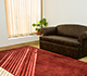 Jaipur Rugs - Hand Loom Jute Red and Orange PHJT-06 Area Rug Roomscene shot - RUG1059303