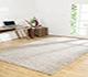 Jaipur Rugs - Hand Loom Synthetic Fiber Beige and Brown PHPL-06 Area Rug Roomscene shot - RUG1087545